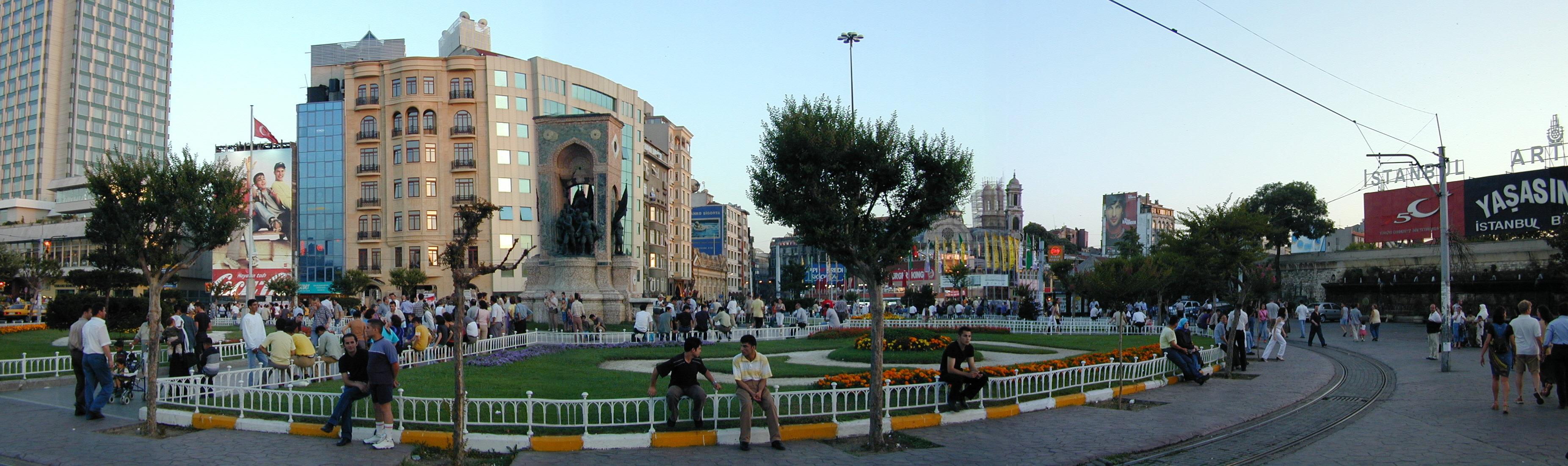 Takism Square, Istanbul, Turkey
